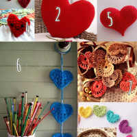 Crochet Roundup: FREE heart patterns