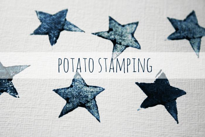Potato stamping tutorial roundup
