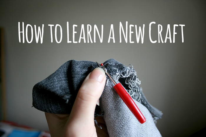 How to learn a new craft