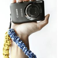 Macramé Camera Strap