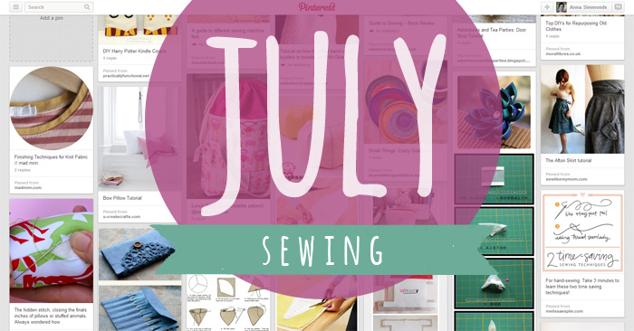 July's craft of the month