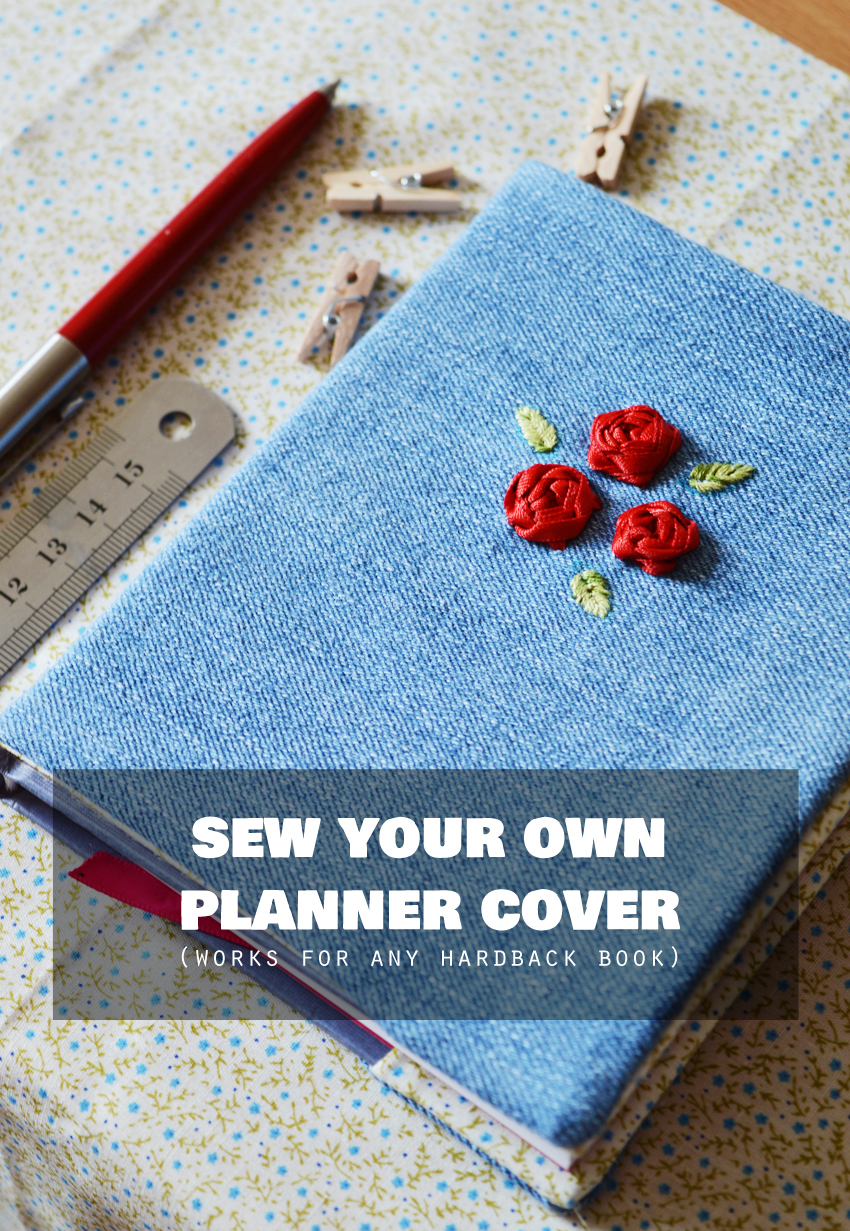 Book Cover Sewing Uk : How to sew a cover for any hardback book