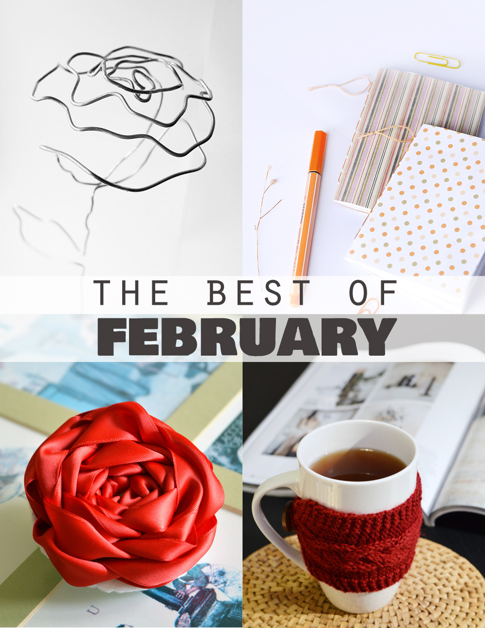 The most popular DIYs of February on craftingfingers.co.uk