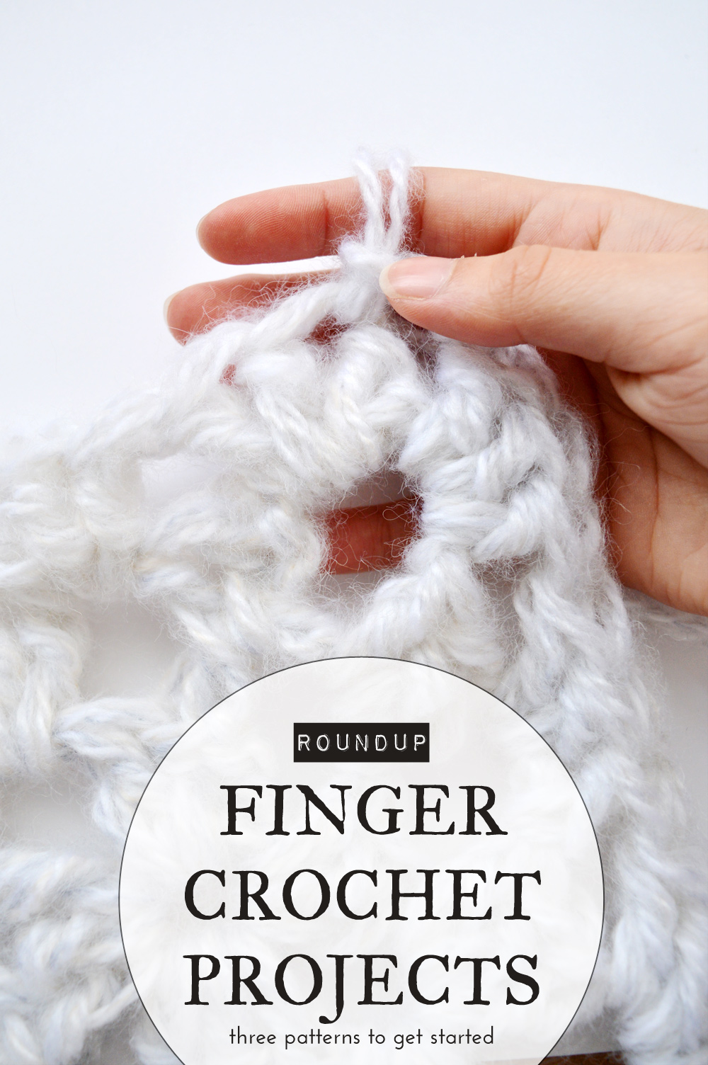 Finger crochet projects to get started