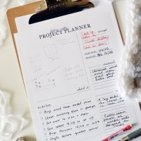 The hassle-free way to plan your next DIY (printable)