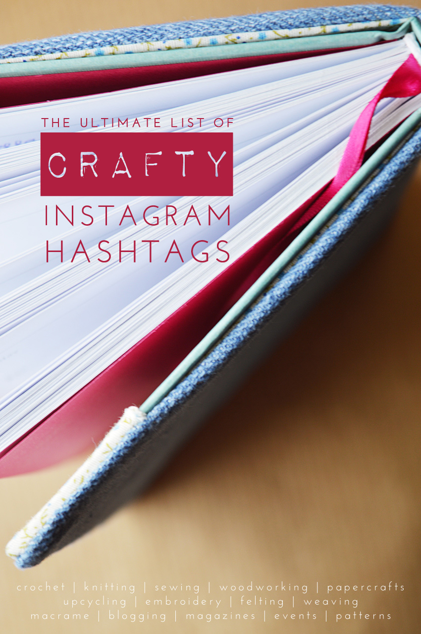 The Ultimate List of Crafty Instagram Hashtags