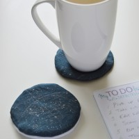 DIY Constellation Coasters