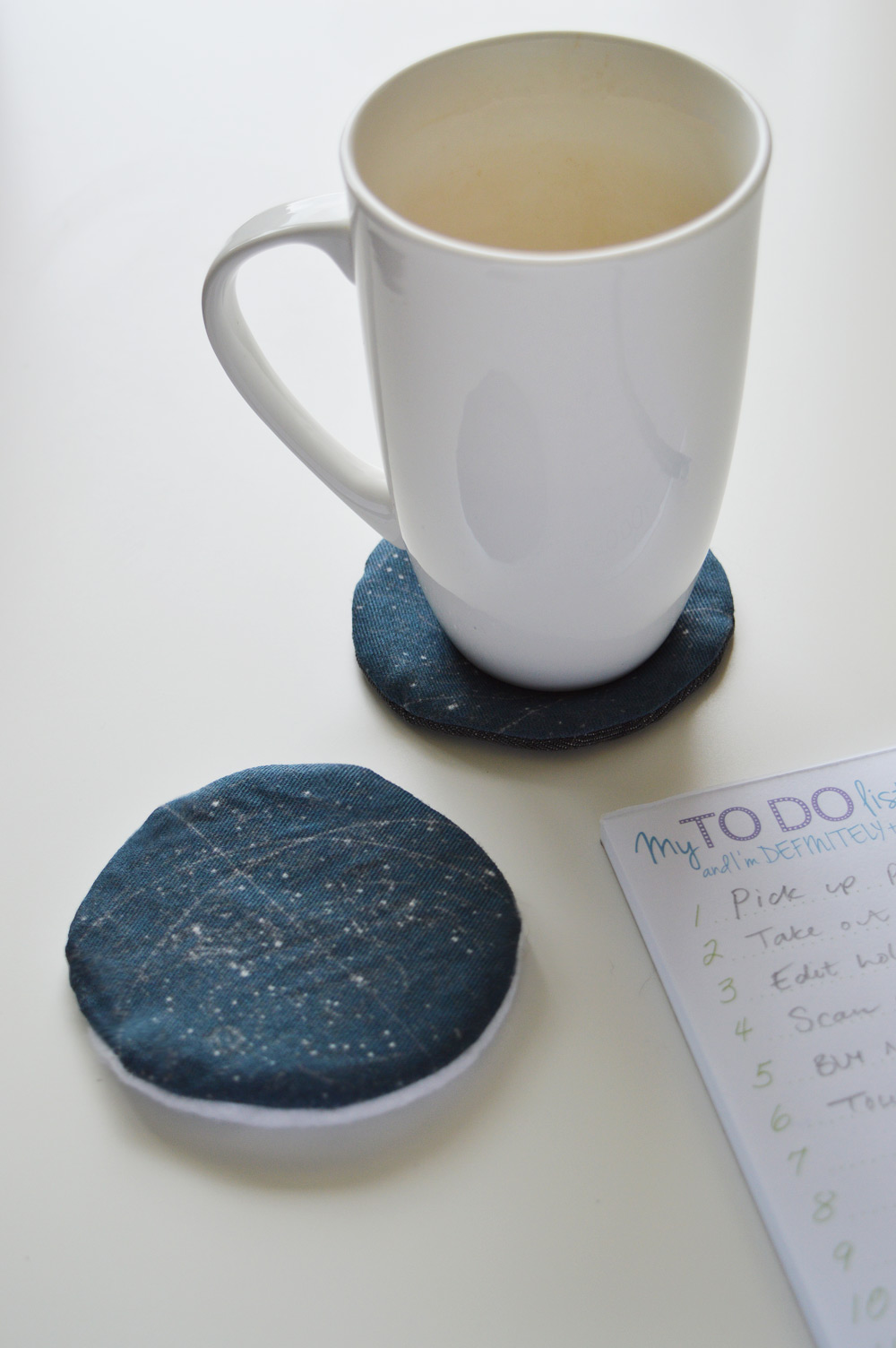 DIY constellation coasters sewing tutorial