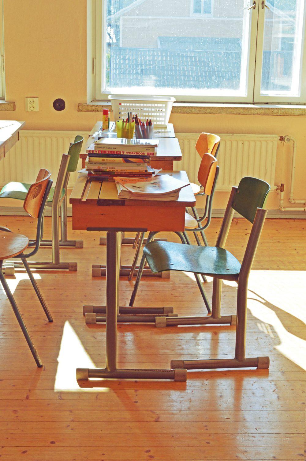 Skolbacka abandoned classroom
