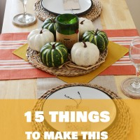 15 Autumn Decor DIYs