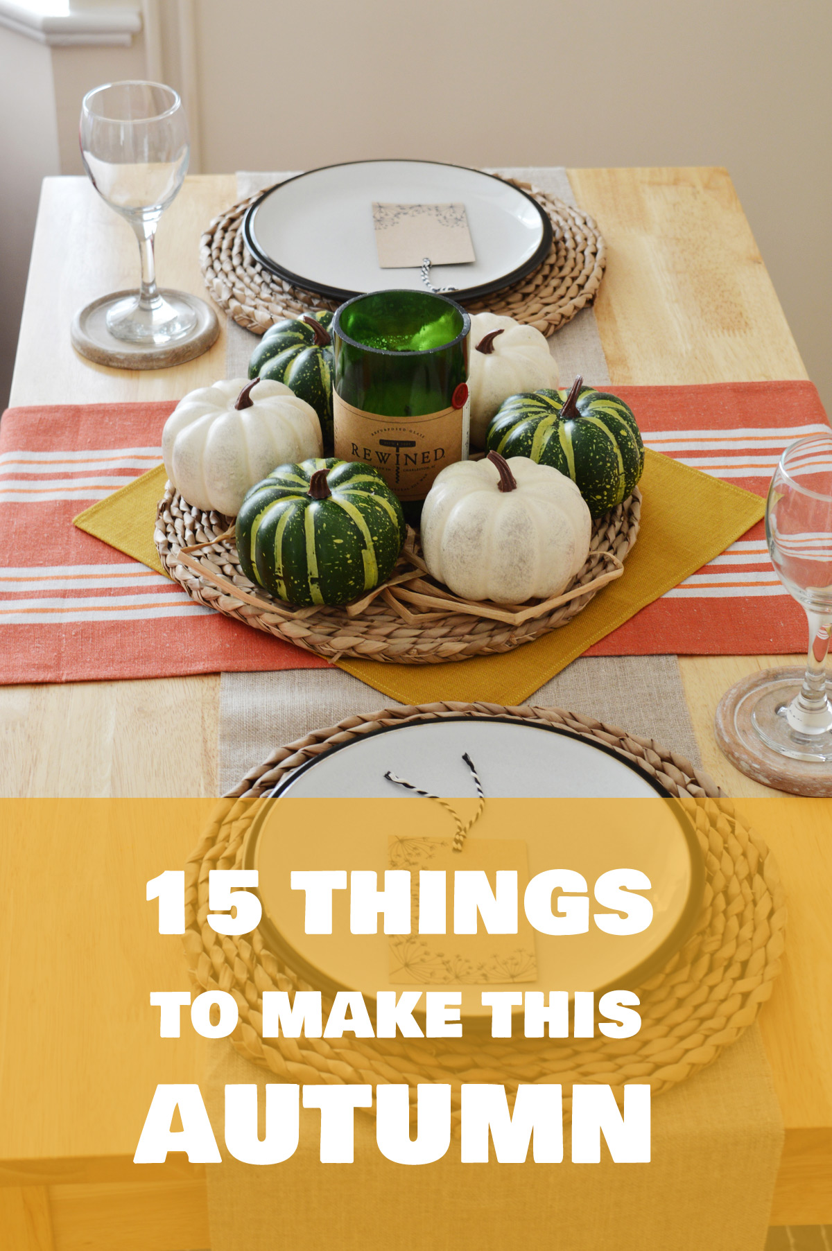 15 autumn DIYs #interiors #homedecor #DIY
