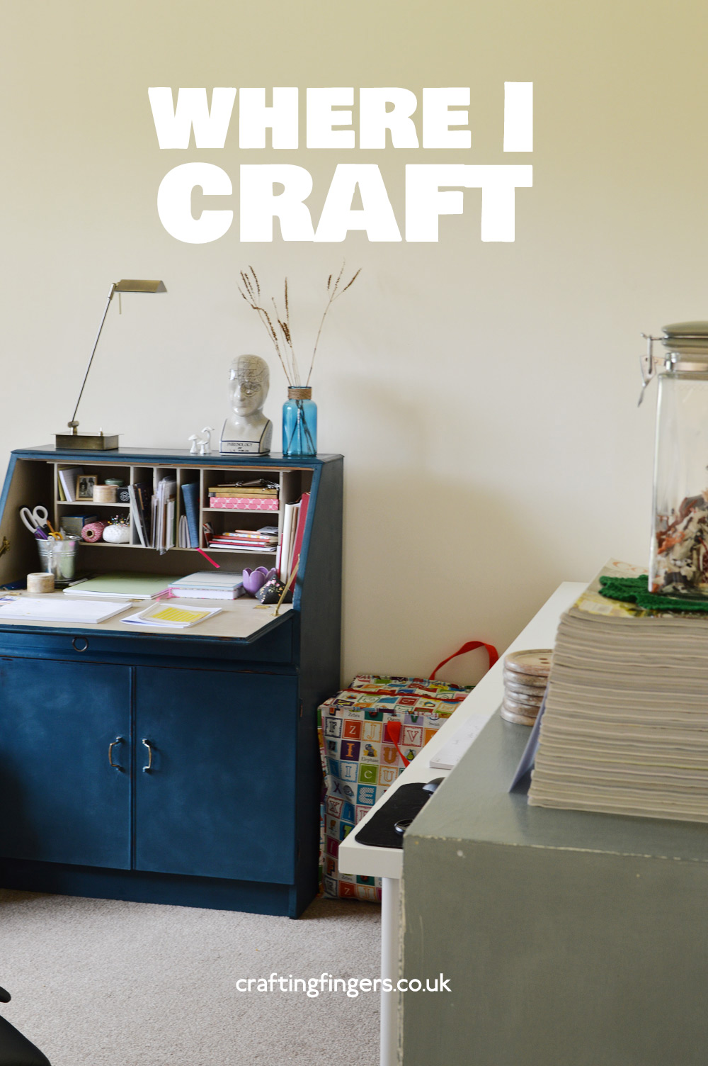 My craft room | Crafting Fingers