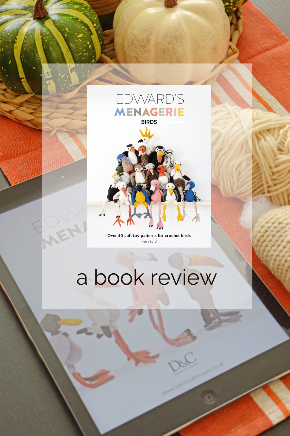 A review of Kerry's Lords latest book Edward's Menagerie: Birds