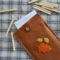 DIY Woodland Notepad Cover