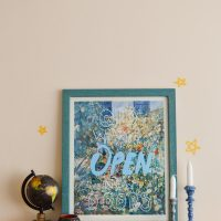 DIY Thrift Store Art Chalk Marker Makeover