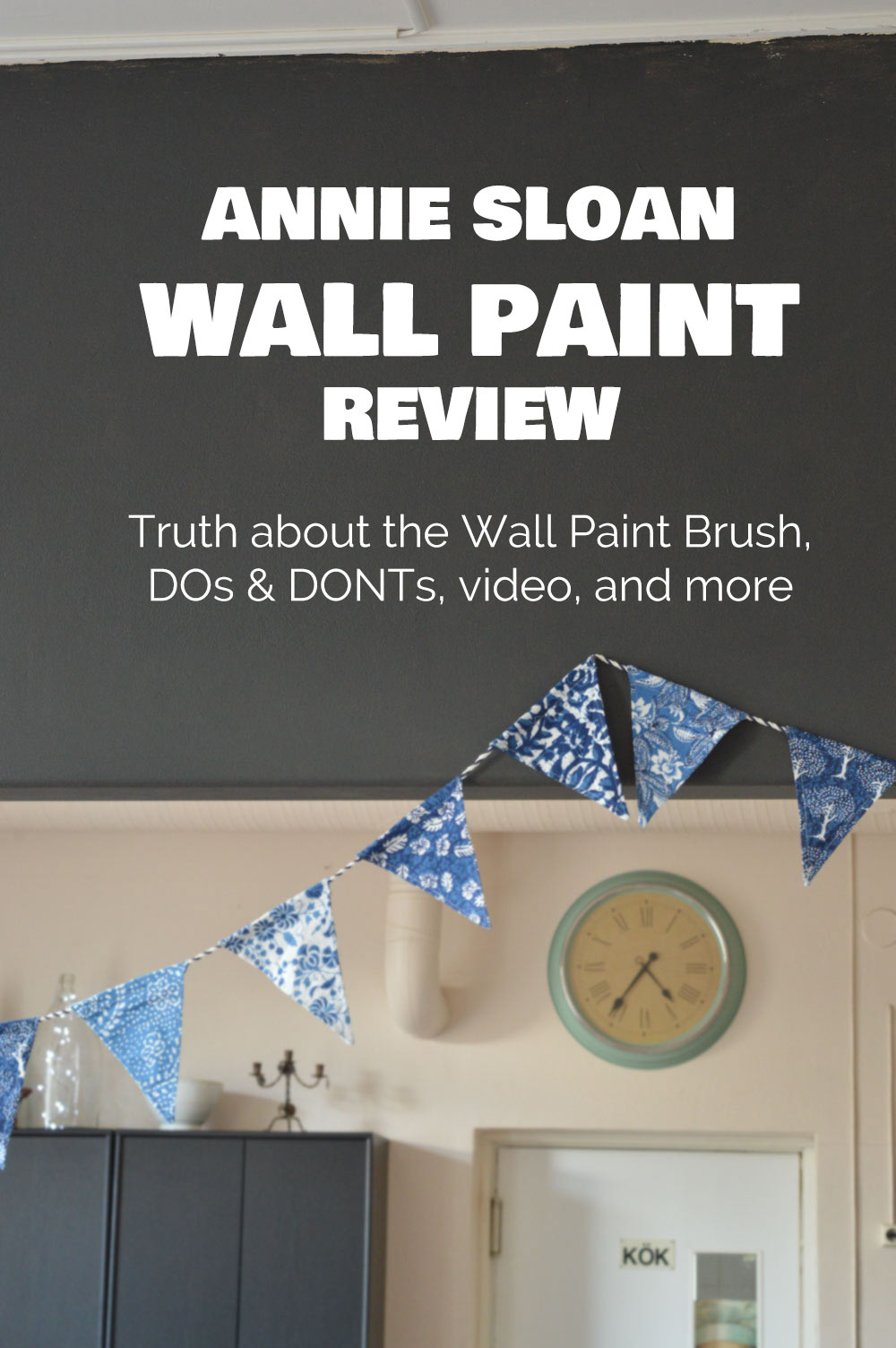 Annie Sloan Wall Paint and Wall Paint Brush review
